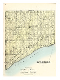 1878, Scarboro, Canada Giclee Print