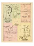 1876, Canning, Plattsville, Drumbo, Princeton, Washington, Wolverton, Canada Giclee Print