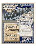 William Cutbush and Sons Giclee Print by William Cutbush and Sons