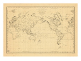 1835, World Giclee Print