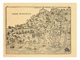 1606, New Brunswick, Newfoundland and Labrador, Nova Scotia, Prince Edward Island Giclee Print