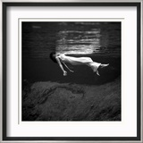 Weeki Wachee Spring, Florida Poster by Toni Frissell
