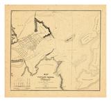 1834, Portland Harbor, Maine Giclee Print