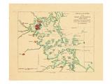 1775, Boston Harbor Chart, Massachusetts Giclee Print