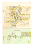 1878, Newmarket and Stouffville, Canada Giclee Print