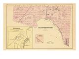 1876, Blandford Township, Innerkip, Ratho, Canada Giclee Print