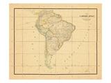 1831, South America Giclee Print
