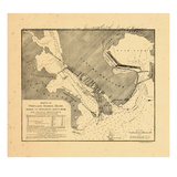 1886, Portland Harbor, Maine Giclee Print