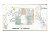 1875, Hamilton City - Wards 3, 4 - Part, Canada Giclee Print