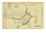 1876, Tilsonburg, Brownsville, Mount Elgin, Canada Giclee Print