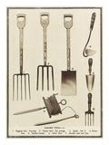 Garden Tools Giclee Print