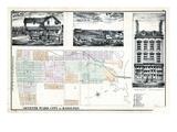 1875, Hamilton City - Ward 7, Canada Giclee Print