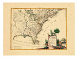 1778, Canada, United States Giclee Print