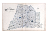 1878, Middlesex County, Canada Giclee Print