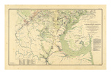 1891, Washington DC, Virginia, Civil War Giclee Print