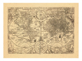 1599, World Giclee Print