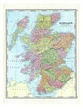 1906, Scotland Giclee Print