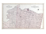 1878, Delaware Township, Westminster Township, Lambeth, Tempo, Byron, Canada Giclee Print