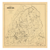 1899, Northern Maine Giclee Print