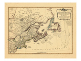 1794, Maine, Massachusetts, New Brunswick, New Hampshire, New Jersey, New York, Newfoundland Giclee Print