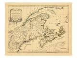 1775, Cape Breton, Nova Scotia, Prince Edward Island Giclee Print