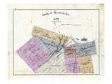1875, Wentworth County Map, Canada Giclee Print