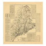 1909, Maine Giclee Print