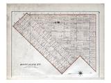 1878, Metcalfe Township, Napier, Canada Giclee Print