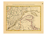 1778, Central America Giclee Print