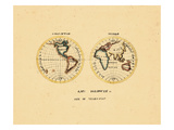 1827, World Giclee Print