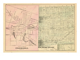 1876, Ingersoll, East Oxford Township, Eastwood, Canada Giclee Print