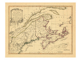 1775, Cape Breton, Maine, New Hampshire, Nova Scotia Giclee Print