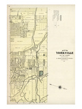 1878, Yorkville, Canada Giclee Print
