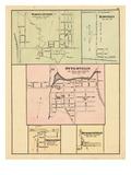 1876, Norwichville, Hawtrey, Otterville, Springford, Burgessville, Canada Giclee Print
