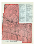 1928, Lot No. 67 - Queens County, Canada Giclee Print