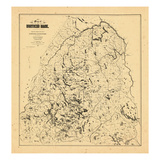 1900, Northern Maine Giclee Print