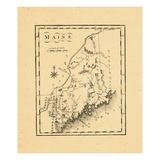 1795, Maine Giclee Print