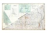 1875, Flamboro West Township, Freelton Village, Creenville, Bullock's Corners, Millgrove, Canada Giclee Print