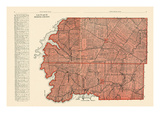 1928, Lots No. 31, 32 - Queens County, Canada Giclee Print