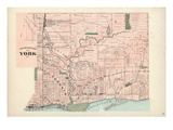 1878, York - South, Canada Giclee Print