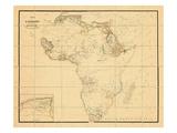 1831, Africa Giclee Print