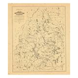 1883, Maine Giclee Print
