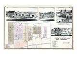 1875, Hamilton, Canada Giclee Print