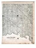 1878, Ekfrid Township, Glencoe, Strathburn, Middlemiss, Longwood, Melbourne, Canada Giclee Print
