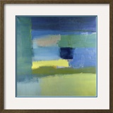 Abstract 10 Framed Giclee Print by Diana Ong