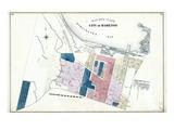 1875, Hamilton City - Ward 4, Canada Giclee Print