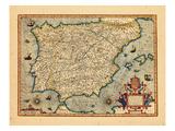 1613, Portugal, Spain Giclee Print