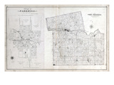 1878, North Dorchester Township, Park Hill, Gladstone, Harrietsville, Mossley, Putnamville, Canada Giclee Print