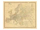 1831, Europe Giclee Print
