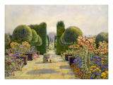 The Paved Court, Dyffryn Giclee Print by Edith Helena Adie